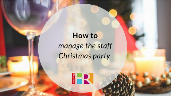 How to manage the staff Christmas party