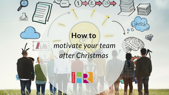 How to motivate your staff after Christmas
