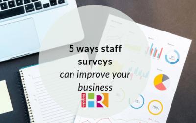 5 ways staff surveys can improve your business