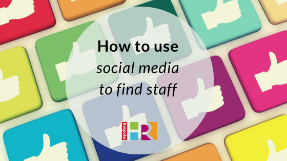 How to use social media to find staff