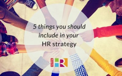 5 things you should include in an HR strategy