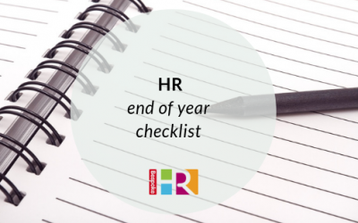 HR end of year checklist