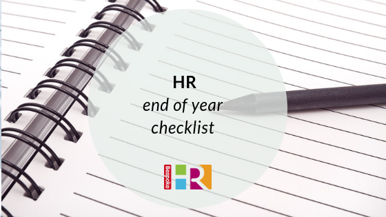 HR end of year checklist