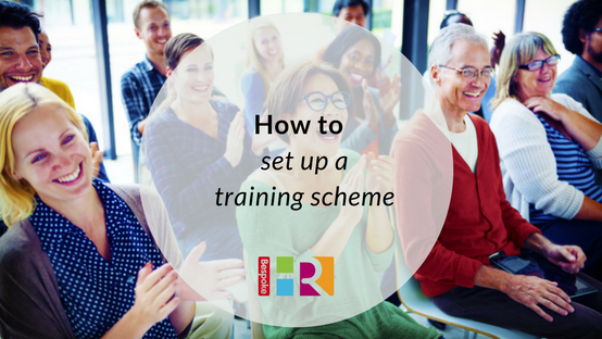 How to set up a training scheme