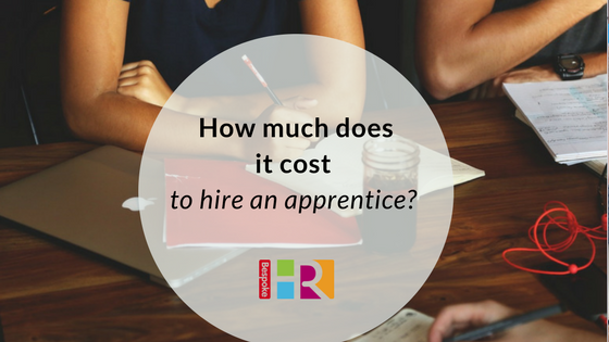 How much does it cost to hire an apprentice?