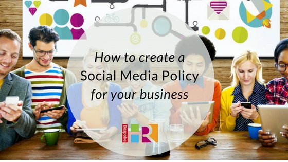 How to create a social media policy for your business
