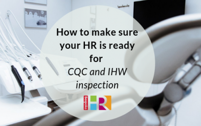 Healthcare HR: How to make sure your HR is ready for CQC and IHW inspection