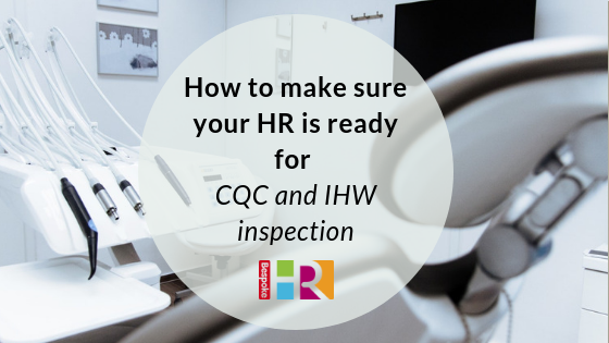 HR and CQC IHW Inspections