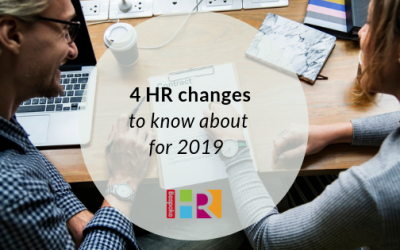 4 HR changes to know about in 2019