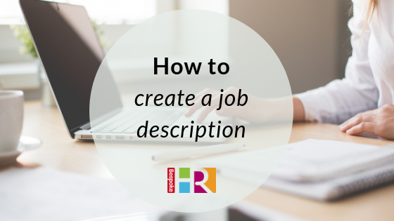 How to create a job description