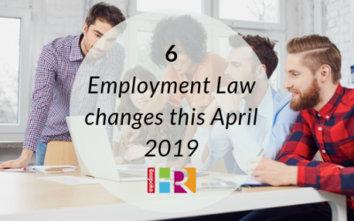 6 employment law changes this April 2019
