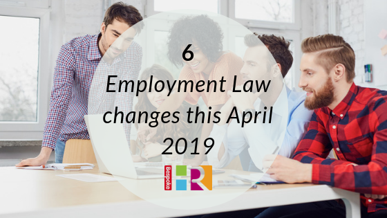 employment changes April 2019