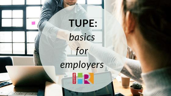 TUPE – basics for employers