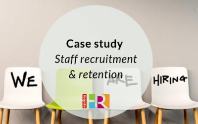 Staff recruitment & retention