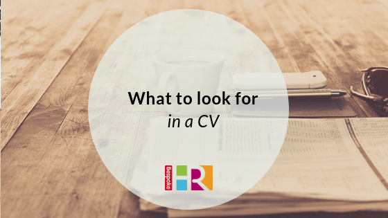 What to look for in a CV blog header