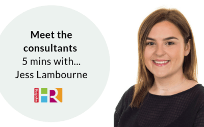 Meet the consultants: 5 mins with…Jess Lambourne