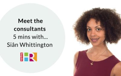 Meet the consultants: 5 mins with…Siân Whittington