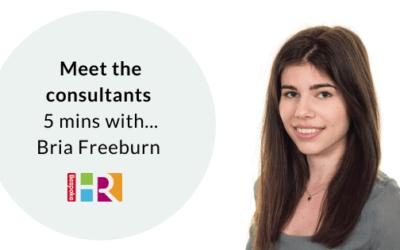 Meet the team: 5 mins with Bria Freeburn, HR Assistant