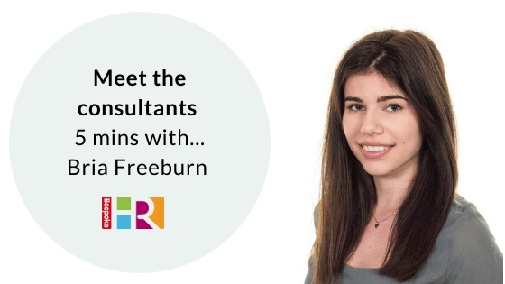 Meet the team: 5 mins with Bria Freeburn, HR Assistant