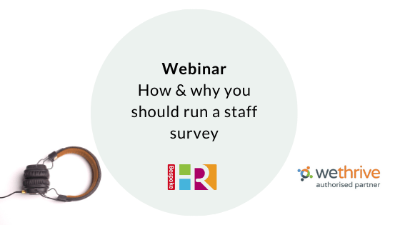 How and why you should run a staff survey