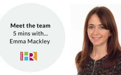 Meet the team: 5 mins with Emma Mackley
