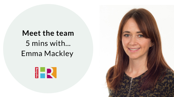 Meet the team: 5 mins with Emma Mackley