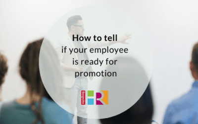 How to tell whether your employee is ready for promotion