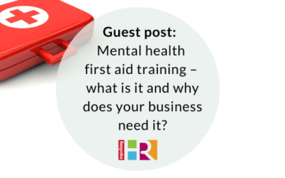 Guest post: mental health first aid training – what is it and why does your business need it?