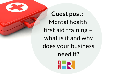 Guest post: mental health first aid