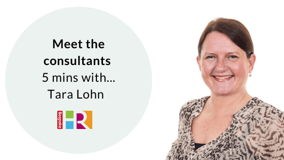 Meet the consultants: 5 mins with Tara Lohn
