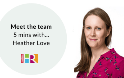 Meet the team: 5 mins with Heather Love