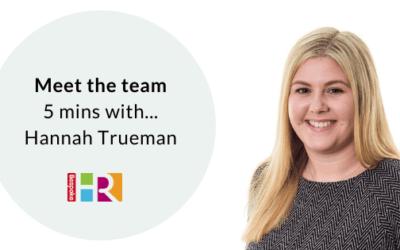 Meet the team: 5 mins with Hannah Trueman