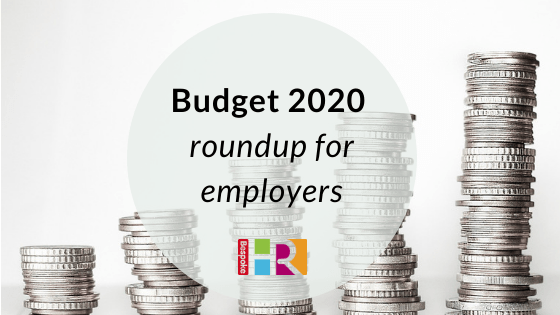Budget 2020 roundup for employers