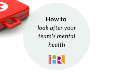 How to look after your team's mental health