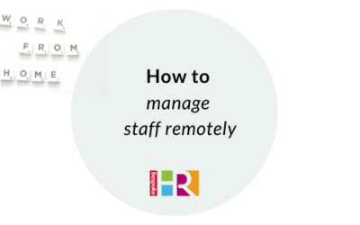 How to manage staff remotely
