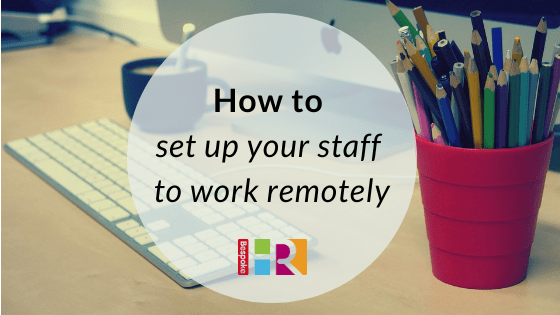 How to set up remote working