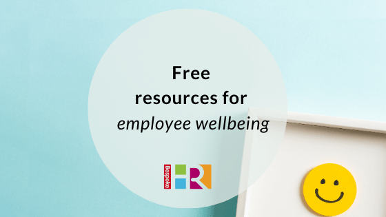 Free resources to help with employee wellbeing