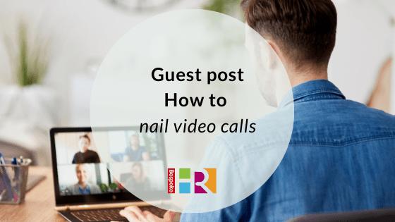 Man doing a video call