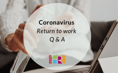 Return to work Q & A