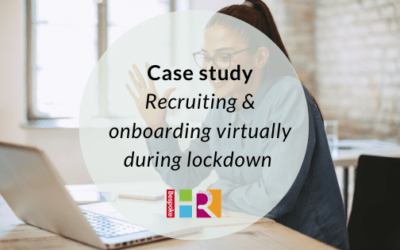 Recruiting and onboarding during lockdown