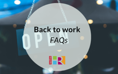 Back to work FAQs