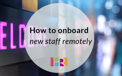 How to onboard new staff remotely