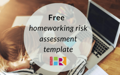 Free homeworking risk assessment template