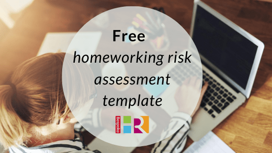 Free homeworking risk assessment document