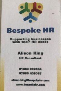Bespoke HR card