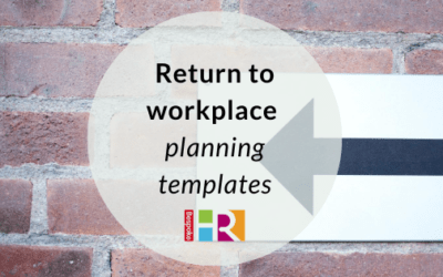 Return to workplace planning templates