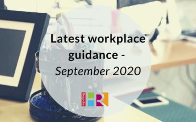 Latest workplace guidance