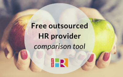 Free outsourced HR provider comparison tool