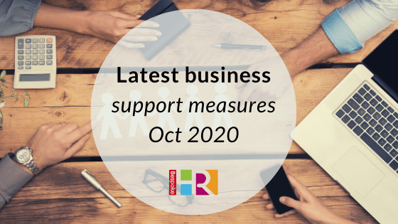 Latest business support measures announced – October 2020