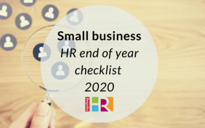 Small business HR end of year checklist